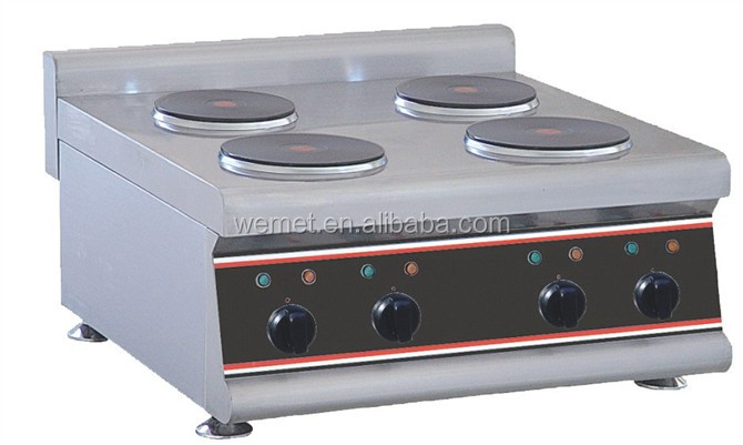 Electric Hot Plate Cooker 4 Burner Stove