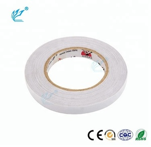 best seller simple design non-toxic double sided fabric tape adhesive non stretch tape 2017