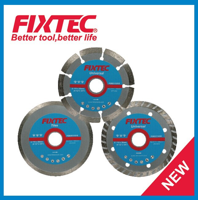 FIXTEC Power Tool Accessories Spare Parts Diamond Cutting Disc