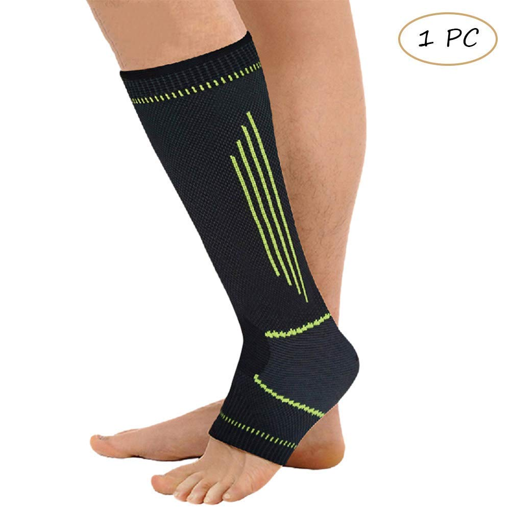 fb5777b659 Get Quotations · Houlife Women & Men Ankle Support Calf Sleeve Recovery  Performance Open-Toe Graduated Compression Stocking