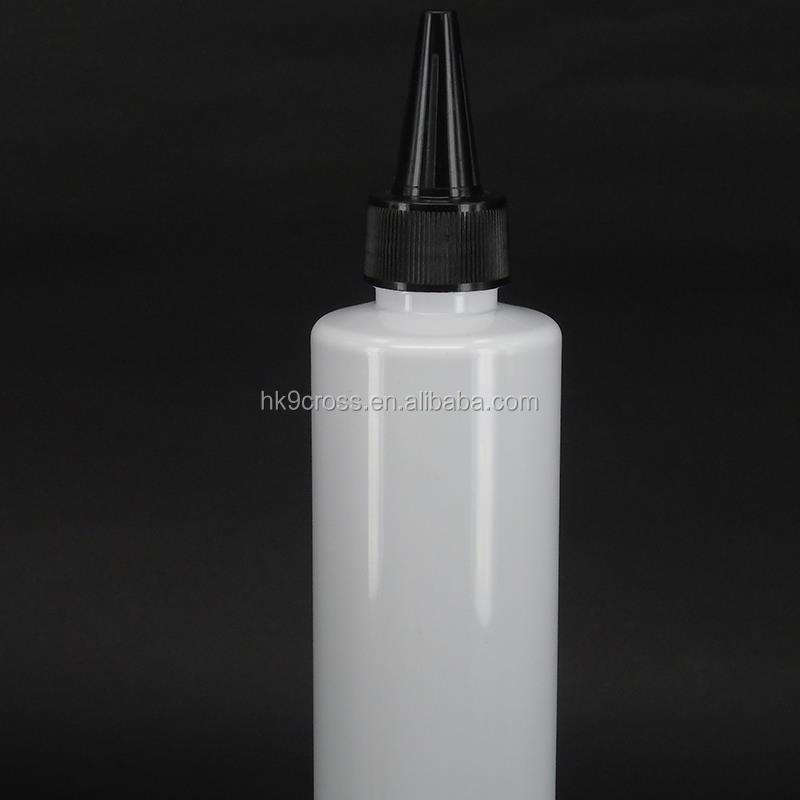 250ml white plastic cooking oil ink bottle tomato sauce squeeze bottle empty shampoo bottle