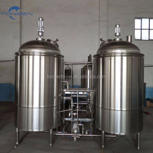60BBL/batch stainless steel beer mash/lauter/kettle/whirlpool tank for craft beer brewery with CE,ISO certified