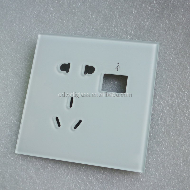 Customized Tempered Glass Switch Panel,Light Switch Glass,Wall ...