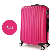 284245e95 hot sale pc/abs luggage 3 piece set suitcase travel trolley bag