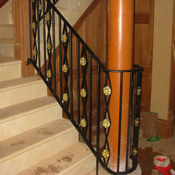 Wrought Iron Balustrade/indoor Wrought Iron Stair Railing Design/staircase  Handrail   Buy Outdoor Wrought Iron Stair Railing,Used Wrought Iron Stair  ...