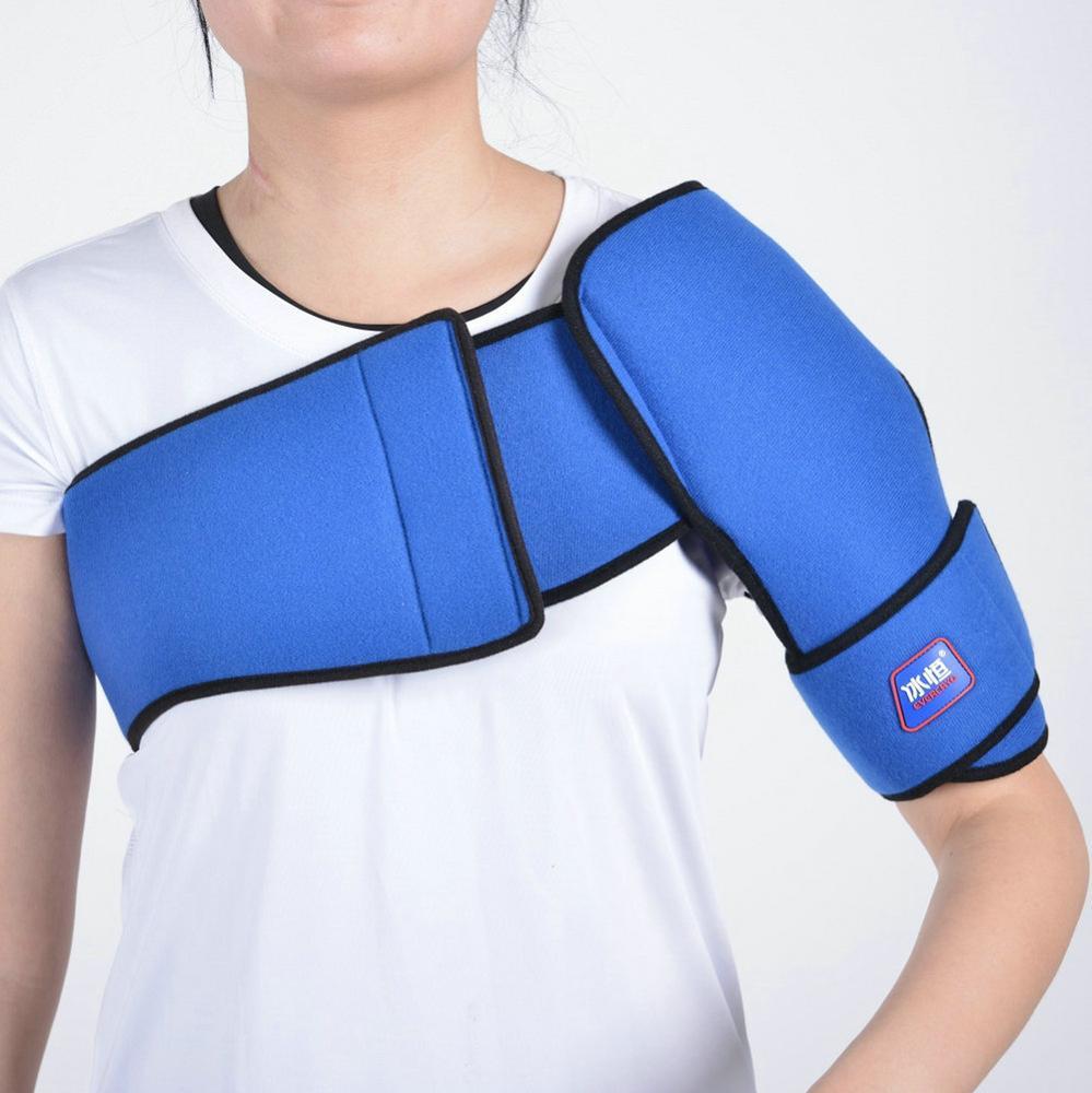 Ombro Almofada de Gel Frio Terapia crio Gelo para Dor Nas Articulações Alívio Rápido
