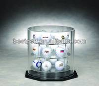Acrylic Round Golf Ball Display Case A127