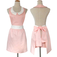 Stylish Cute Cooking Aprons for Women Girls Hair Nail Cosmetology Vintage Apron