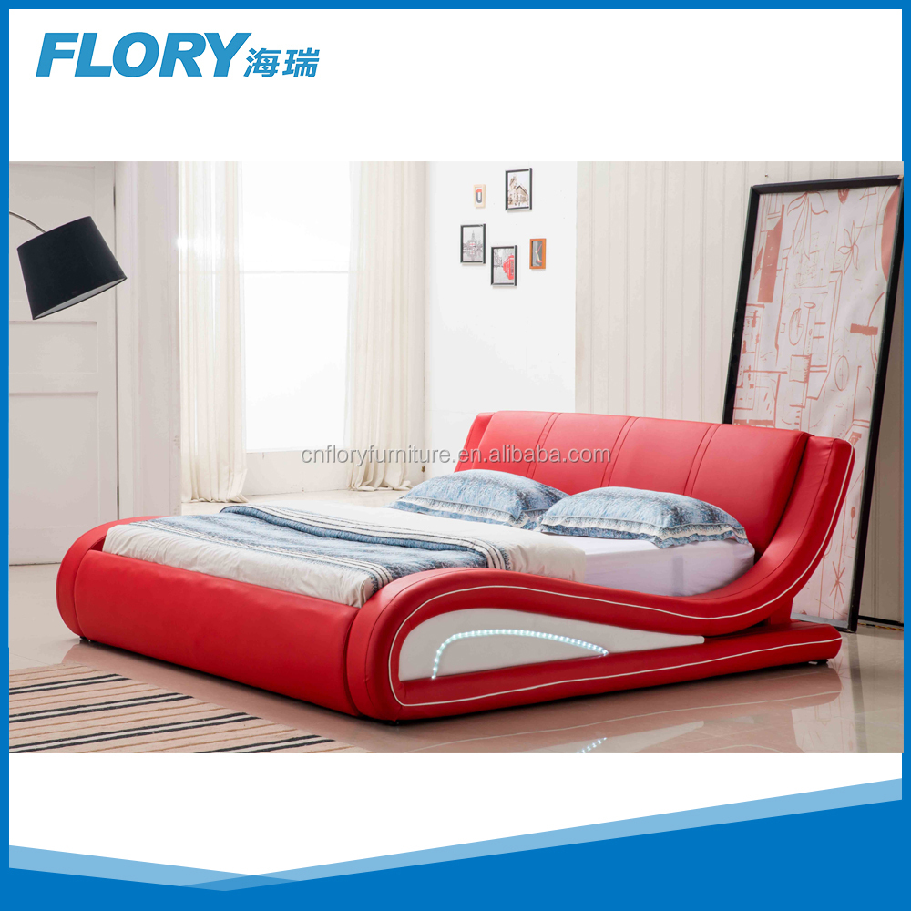 Led Bedroom Furniture King Size Led Bed King Size Led Bed Suppliers And Manufacturers