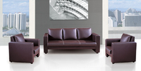 office furniture, office leather sofa, sectional sofa