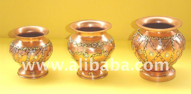 Copper Mangal Kalash / Lota
