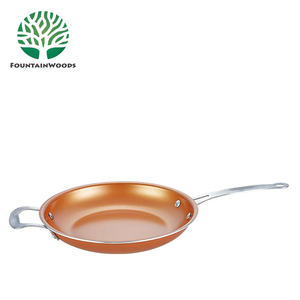 Wholesale Korean Rosecooker--12.6inch Electric Temperature Control Frying Pan with Helper Handle