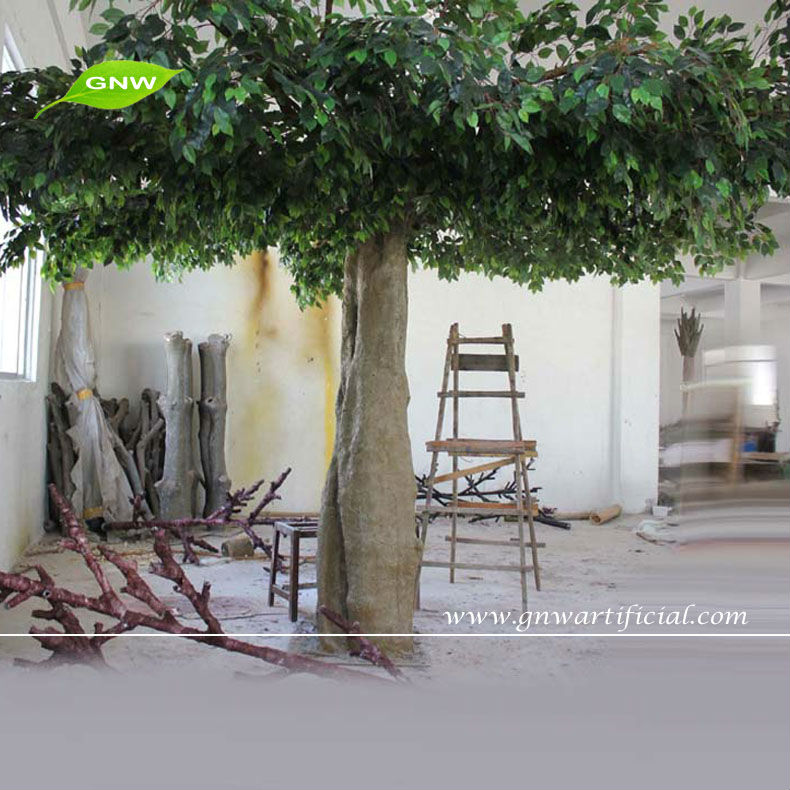 Banyan Tree Artificail trees leaves Indoor Decoration Landscaping GNW BTR1010