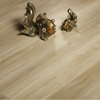2019 new design E0 oak color saw marks waterproof multi layer engineered wood floorings wear layer papers with plywood