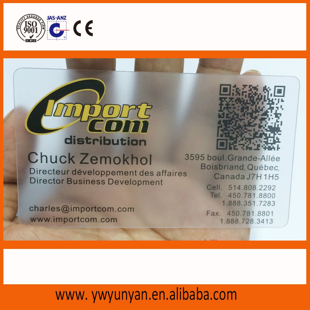 I Want To Buy Business Card With Wechat Qr Code - Buy Business ...