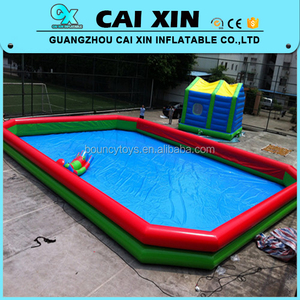 Outdoor water games large inflatable adult swimming pool