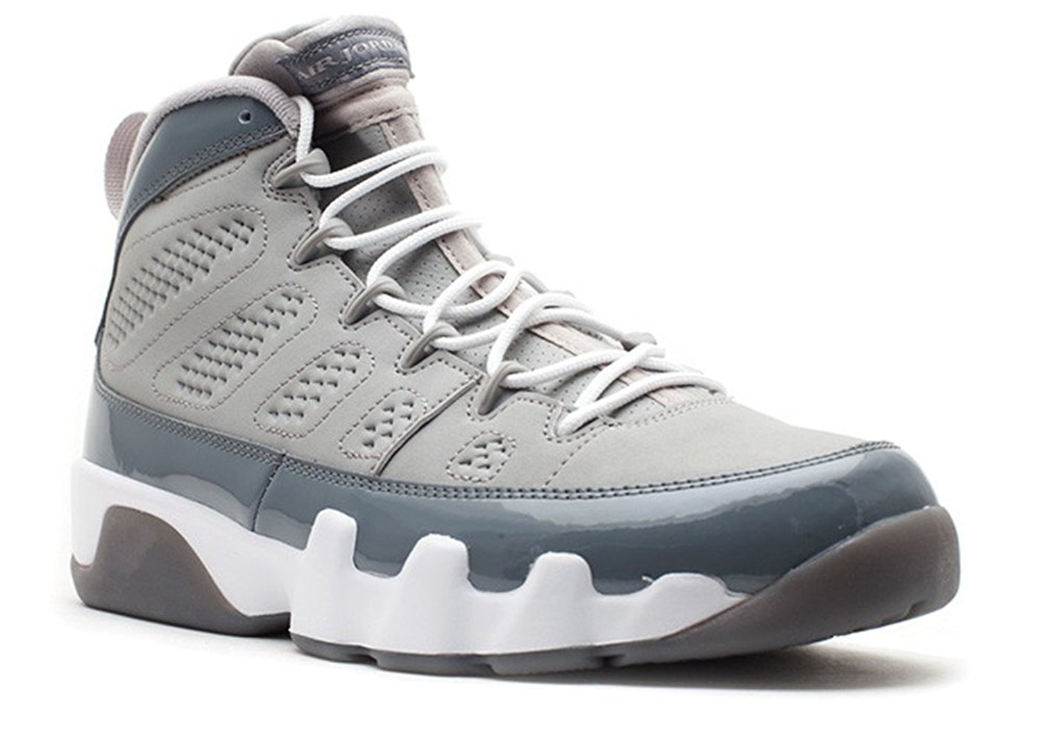7acc4d5aad51 Ambar Zuiga Jurado Synthetic Basketball Shoe Air Jordan 9 Retro cool Grey  2012 release medium grey