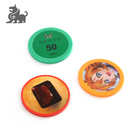 Customized small colorful casino round poker chips set