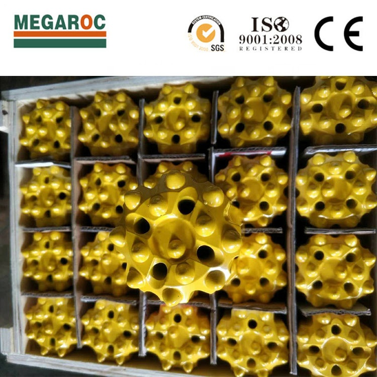 Pulsante di Carburo di tungsteno Atlas Copco Hard Rock Drill Bit