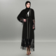 latest designs open islamic clothing black dubai muslim abaya