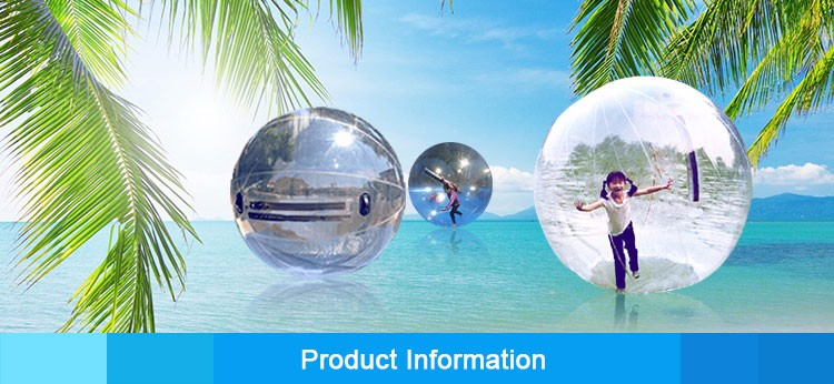 Transparent Giant Cylinder Human Water Bubble Ball Pvc Floating Roller Home Appliance Parts Kitchen Appliance Parts