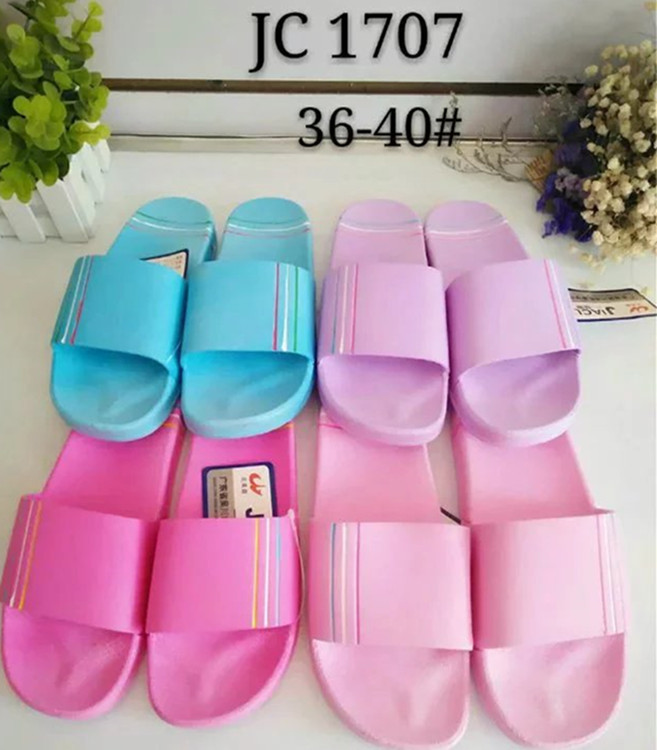 Home comfortable footwear hot sale China pvc ladies slipper