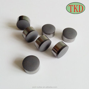 PDC cutter button bit for core drill bits and hard rock drill bit