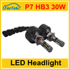 Auto spare parts light super bright HB3 P7 4200lm led headlight for cars