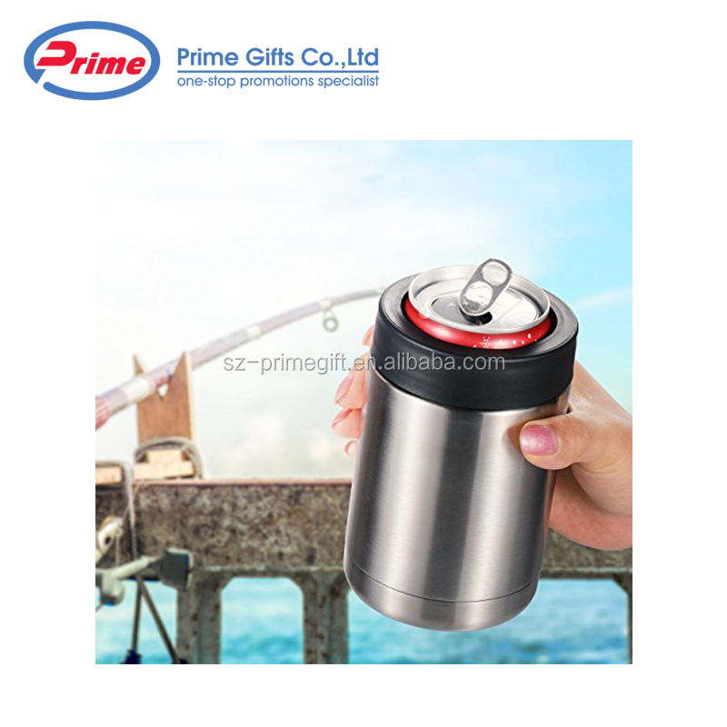 Amazon Hot Selling 12oz Stainless Steel Beer Can Cooler for Sale