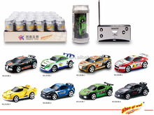hot sale Shen qi wei 1:58 4 channel coke can mini rc car