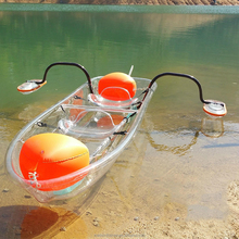 Cheap Double Clear Fishing Canoe For Sale