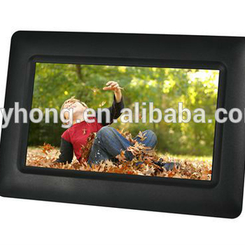 Medium TFT or IPS digital photo/picture frame 7/8/10.1/13 inch panel