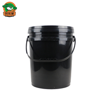 18L Black Oil Empty Plastic Drum