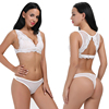 Women Lace Bra Thong Set Extreme Padded Push Up Underwear Bra Set Lace Bralette