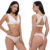 Wanita Renda Bra Thong Set Ekstrim Empuk Push Up Bra Set Renda Bralette