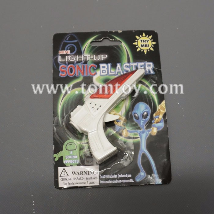 Mini LED Işık Up Space Blaster Ray Gun Sesli