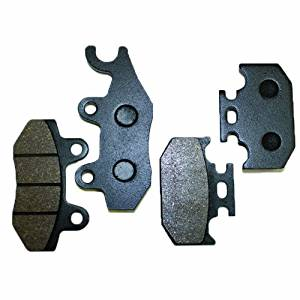 Caltric Front Rear Brake Pads Fits YAMAHA Motorcycle YZ250 YZ-250 YZ 250 1990-1996 Front Rear Brakes