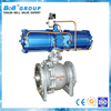 Three pieces type pneumatic actuated high pressure ball valve dn100