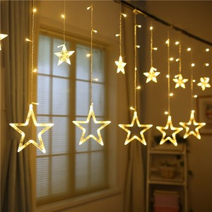 Factory Outlets Hot Selling LED star fairy light curtain wholesale