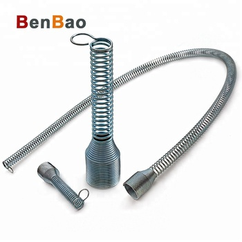 Customized zinc planted stainless steel truck air coil spring