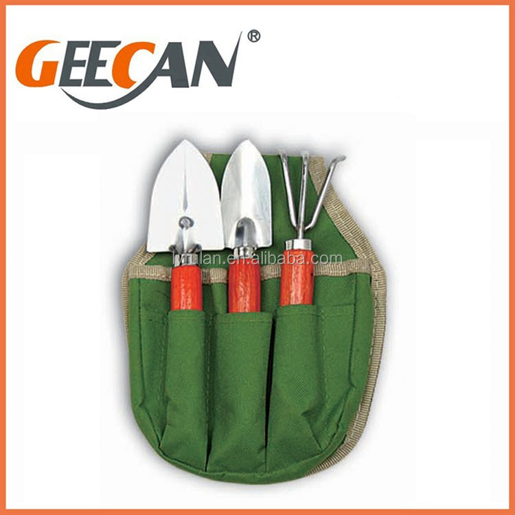 High quality garden tools names with gift bag package for Garden tools equipment sales
