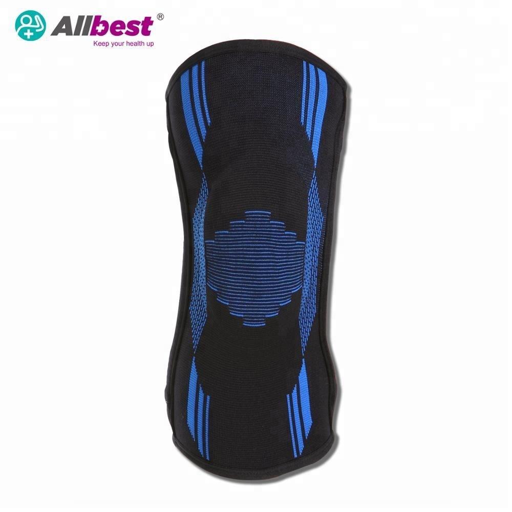 Latex free  Elastic Stretch Knee Sleeve Support Brace