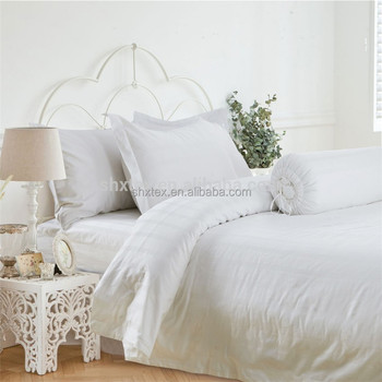 Wholesale Promotional Gift White Hotel Home Hospital Bed Sheet Sets