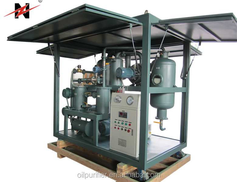 Double-Stage Vacuum Transformer Oil Regeneration Plant, Chongqing Insulation Oil Purification Plant for Sale