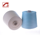 Stock supply blended stretch cotton yarn for knitting stretch cotton t shirt