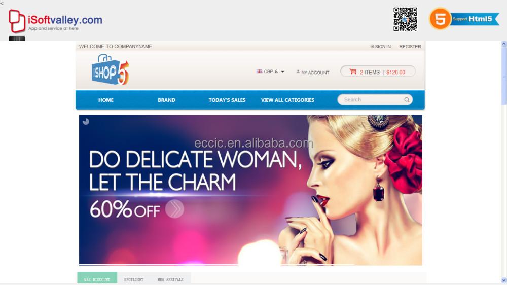 Ecommerce Website Design In Food - Shopping Cart Website Design,My ...