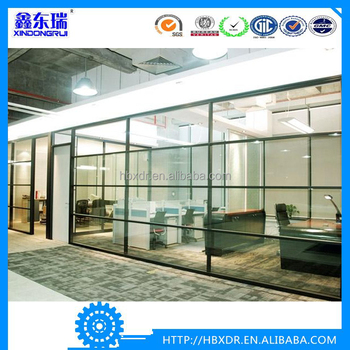 Quality Anodized Aluminum Frame,Office Glass Door And Window ...