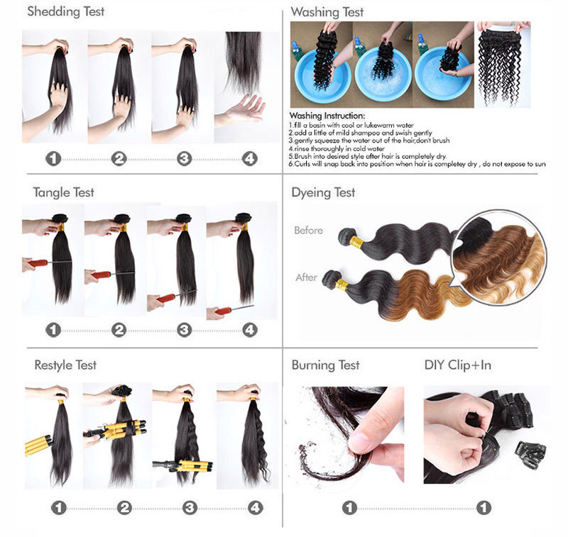 China Manufacture Xuchang Suppliers 100% Virgin Human Hair Weavon ...