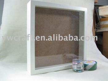 New design 2012 White 3D wooden box photo frame & New design 2012 White 3D wooden box photo frame View Shadow box ... Aboutintivar.Com