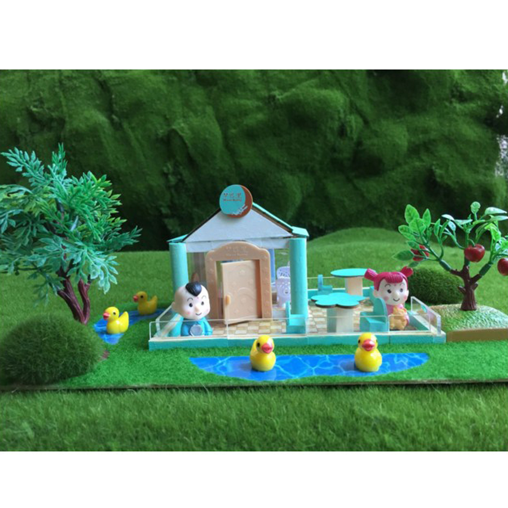 Handcrafts Miniature Project DIY Dolls House Garden Yard